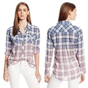 RAILS • Ashton Plaid Ombre Button Down Shirt